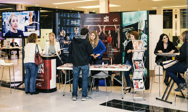 Participation de la chambre de commerce au l ierplazendag for Chambre de commerce au luxembourg